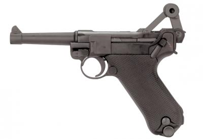 Пневматичний пістолет KWC P-08 Luger Parabellum KMB-41 DHN Blowback