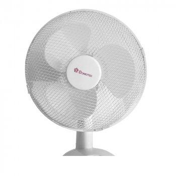 Настільний вентилятор Domotec MS-1626 3 режими білий