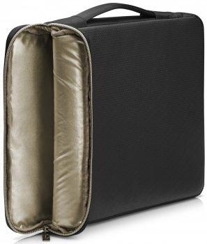 """Чохол HP Carry Sleeve 17.3"""" Black/Gold (3XD37AA)"""
