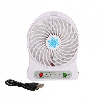 Міні-вентилятор Portable Fan Mini Білий (00106)