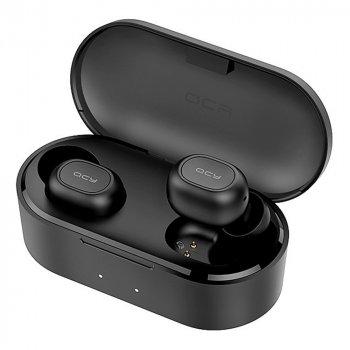 Навушники QCY T2C TWS Bluetooth Black (6957141405314)