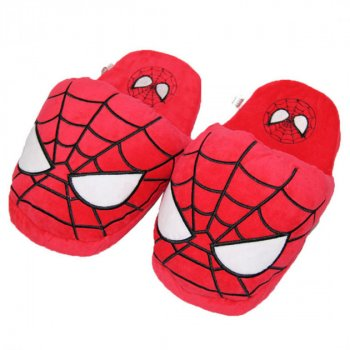 "Плюшевые тапочки игрушки Человек паук ""Spiderman"" My kigu"