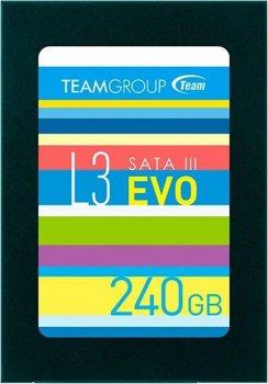 "Накопичувач SSD 240GB Team L3 EVO 2.5"" SATAIII TLC T253LE240GTC101"
