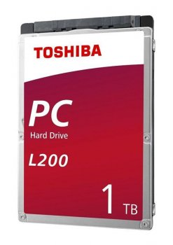 "Накопичувач HDD 2.5"" SATA 1.0 TB Toshiba L200 5400rpm 128MB (HDWL110UZSVA)"