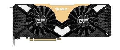 Видеокарта GF RTX 2080 Ti 11GB GDDR6 GamingPro OC Palit (NE6208TS20LC-150A)