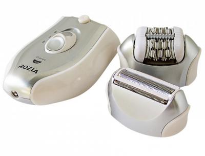 Епілятор жіночий 2-в-1 Rozia HB-6005 Silver