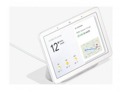 Розумна колонка Google Home Hub з екраном і голосовим асистентом Google Assistant /Chalk