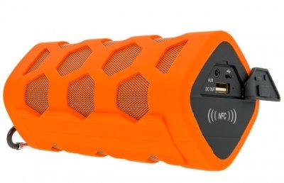Колонка портативная Bluetooth Power Charger 4000 mAh Orange