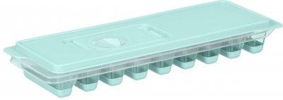 Форма для льда Ardesto Fresh Stick с крышкой 9.5х27х4 см Голубая (AR1102TP)