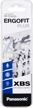 Навушники Panasonic RP-TCM130 White (RP-TCM130GEW)