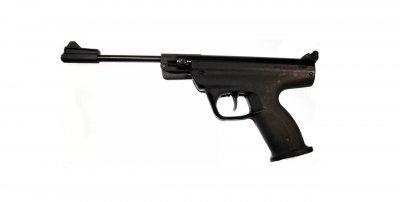 Пневматичний пістолет Байкал МР-53 з газовою пружиною