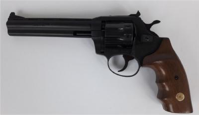 Револьвер Флобера ALFA model 461 (чорний, дерево)