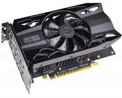 EVGA PCI-Ex GeForce GTX 1650 XC Gaming Black 4GB GDDR5 (128bit) (1485/8000) (HDMI, 2 x DisplayPort) (04G-P4-1151-KR)