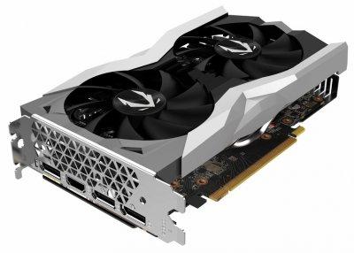 Zotac PCI-Ex GeForce RTX 2060 Gaming Twin Fan 6GB GDDR6 (192bit) (1365/14000) (HDMI, 3 x DisplayPort) (ZT-T20600F-10M)