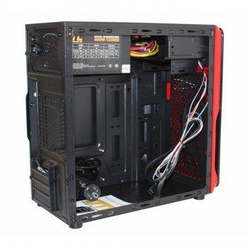 Корпус GTL Micro B-RD Black/Red 400W