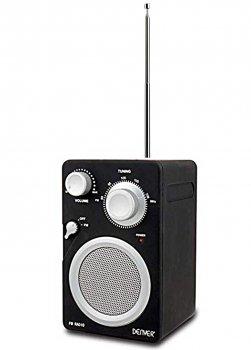FM-радіо TR-43C Denver 15,5х9,5 см Чорний 000003737