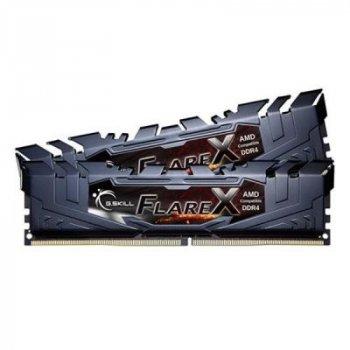 Модуль памяти для компьютера DDR4 16GB (2x8GB) 3200 MHz Flare X G.Skill (F4-3200C14D-16GFX)