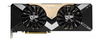 Видеокарта GF RTX 2080 Ti 11GB GDDR6 Dual Palit (NE6208T020LC-150A)