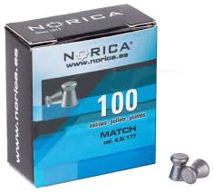 Свинцеві кулі Norica Match 0,48 г 100 шт (195.00.001)