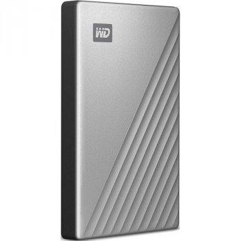 Зовнішній жорсткий диск Western Digital My Passport Ultra 1TB WDBC3C0010BSL-WESN Silver