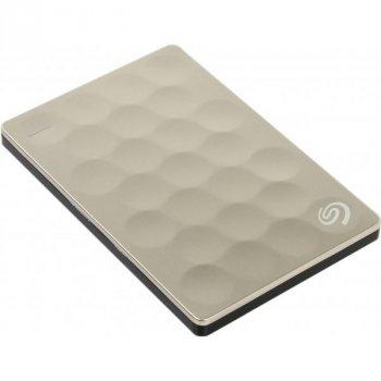 Зовнішній жорсткий диск Seagate Backup Plus Ultra Slim 1 TB STEH1000201 Gold