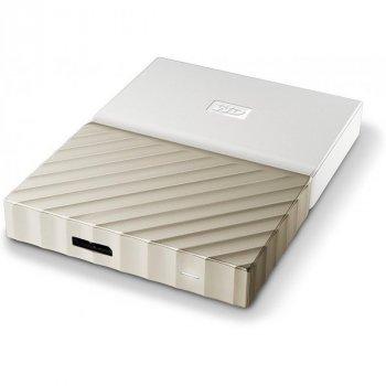 Зовнішній жорсткий диск Western Digital My Passport Ultra 1TB WDBTLG0010BGD-WESN Gold