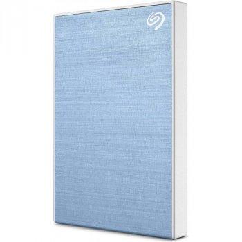Зовнішній жорсткий диск Seagate Backup Plus Slim 2TB STHN2000402 Light Blue