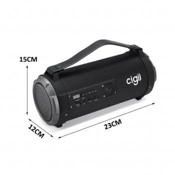 Портативна Колонка Bluetooth Cigii K2201 Black