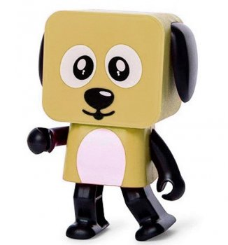 Колонка Dancing Dog Bluetooth Speaker Brown
