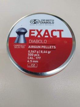 Свинцовые пули JSB Diabolo EXACT 0,547 4,5г 500 шт (546235-500)