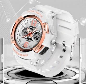 Жіночий годинник Sanda Iceberg White II
