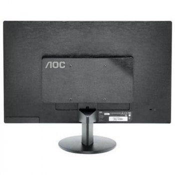 """Монитор AOC 21.5"""" E2270SWN/01 Black; 1920x1080, 200 кд/м2, 5 мс, D-Sub"""