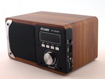 Колонка портативна акустична Atlanfa AT-1822ВТ (975806819)