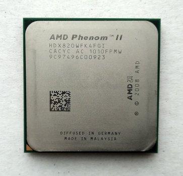 Процесор AMD Phenom II X4 820 2,8 GHz sAM3 Tray 95w (HDX820WFK4FGI) Deneb Б/У