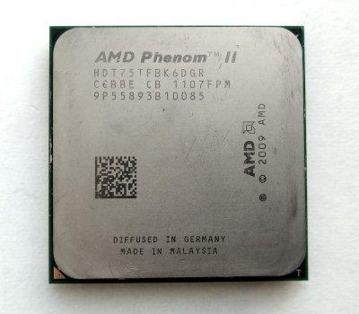 Процессор AMD Phenom II X6 1075T 3,0GHz sAM3 Tray 125w (HDT75TFBK6DGR) Thuban Б/У