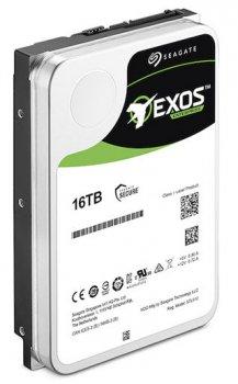 "Жорсткий диск Seagate Exos X16 HDD 16TB 7200rpm 256MB ST16000NM002G 3.5"" SAS"