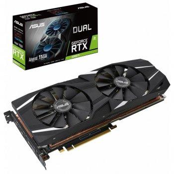 Відеокарта ASUS GeForce RTX2080 Ti 11Gb DUAL ADVANCED (DUAL-RTX2080TI-A11G)