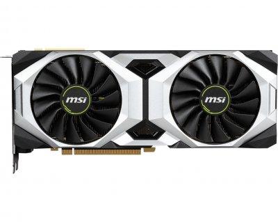 Видеокарта GF RTX 2080 Ti 11GB GDDR6 Ventus OC MSI (GeForce RTX 2080 TI VENTUS 11G OC)
