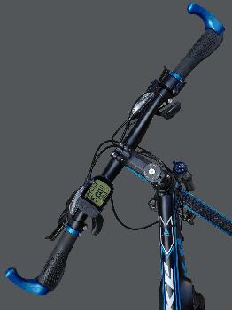 "Електровелосипед MAKE 36V 12Ah 500W рама 17""/ 26"" чорно-синій (MAKE36V125001726BB)"