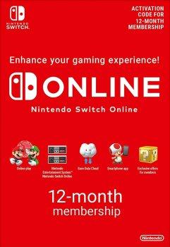 Nintendo Switch Online Gift Card 12 місяців EU- регіон