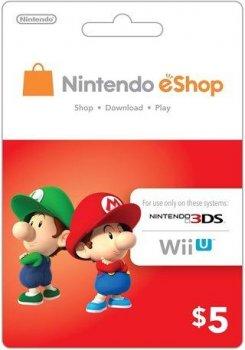 Nintendo eShop Card $5 (USA)