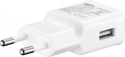 Сетевое зарядное устройство Samsung 2 A White (EP-TA20EWEUGRU)