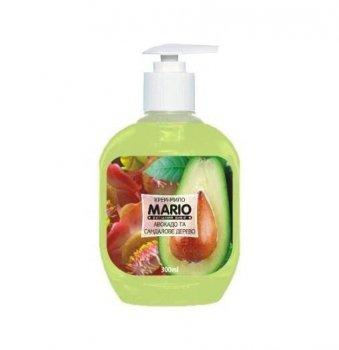 Жидкое крем-мыло MARIO 300мл (насос) Авокадо и сандаловое дерево
