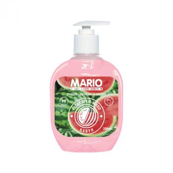 Жидкое крем-мыло MARIO 300мл (насос) Арбуз