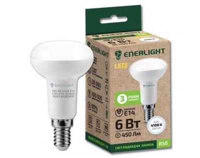 Світлодіодна лампа ENERLIGHT R50 6W 4100K E14
