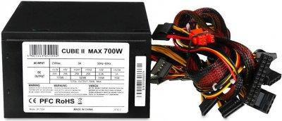 Блок живлення iBOX CUBE II 700W (ZIC2700W12CMFA)