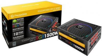 Блок питания Thermaltake Toughpower DPS G RGB 1500W (PS-TPG-1500DPCTEU-T)