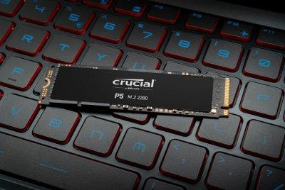 Crucial P5 NVMe 1TB M.2 2280 PCIe 3.0 x4 3D NAND TLC (CT1000P5SSD8)