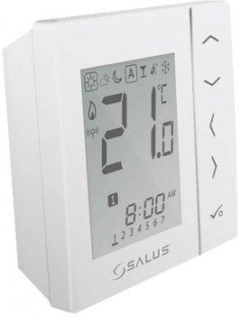 Беспроводной, цифровой регулятор температуры Salus 4в1, белый, на батарейках (VS20WRF)