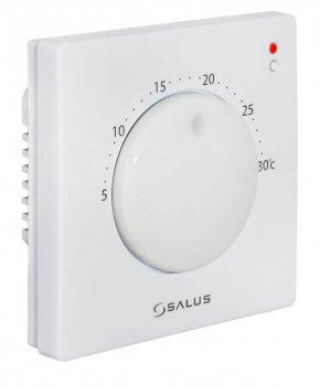 Суточный регулятор температуры Salus, 230V, совместимый с устройствами серии iT600 Communication Bus (VS05)